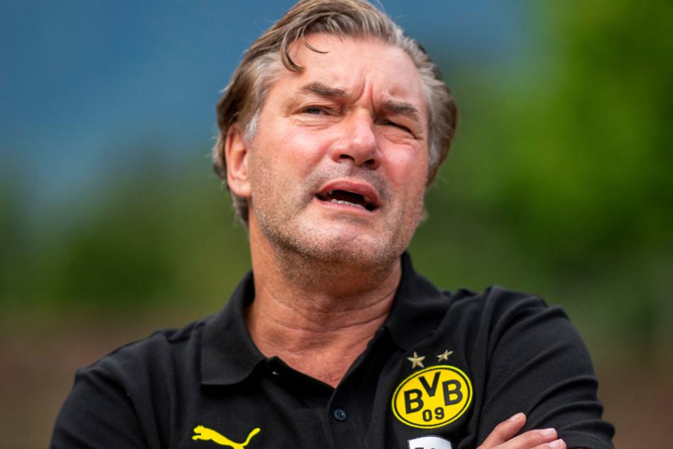 Der Sportliche Leiter des BVB, Michael Zorc (59), äußerte sich erneut zur Personalie Roman Bürki.