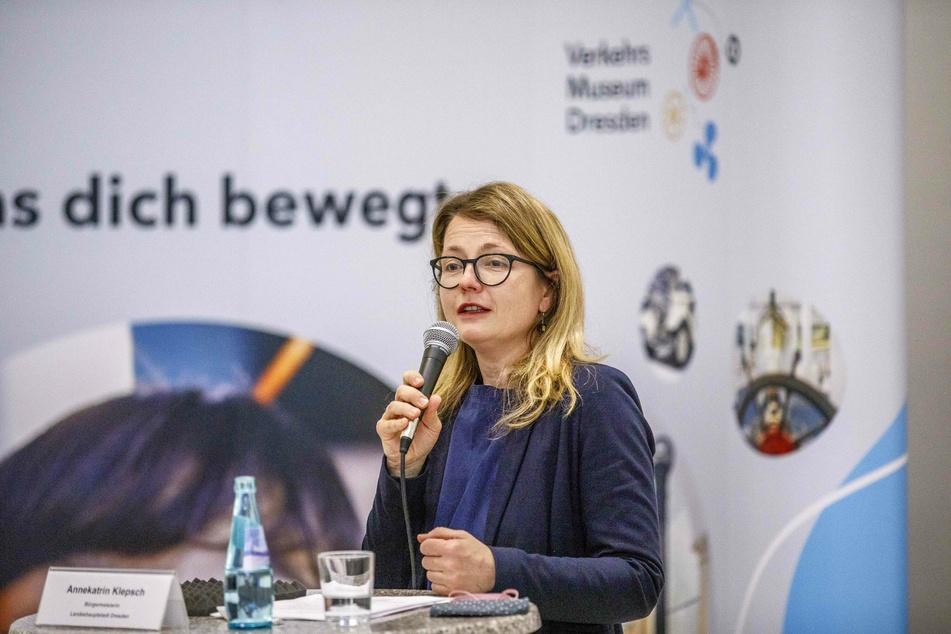 Kulturbürgermeisterin Annekatrin Klepsch (42).