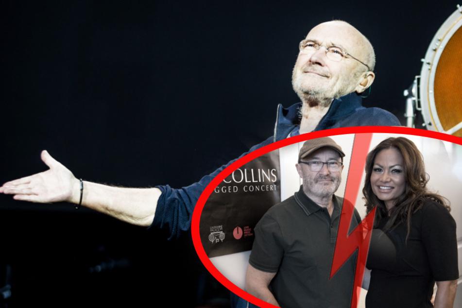 Phil Collins hat endlich sturmfrei: Ex Orianne packt nach Stink-Vorwürfen ihre Koffer!