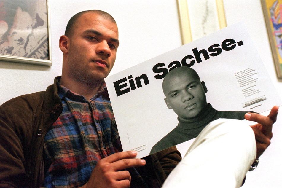 1993 wurde Samuel Meffire (50) zum Gesicht der Sächsischen Polizei. Er war der erste schwarze Beamte in ganz Ostdeutschland.