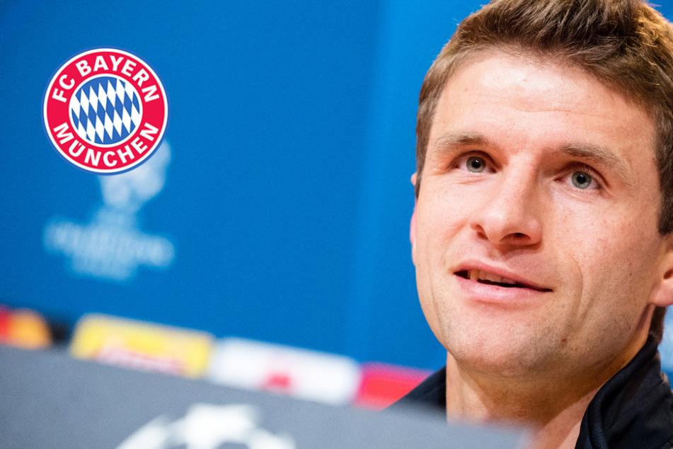 Thomas Müller sorgt bei Bayern-PK für Lacher! Ist das die Antwort des Jahres?