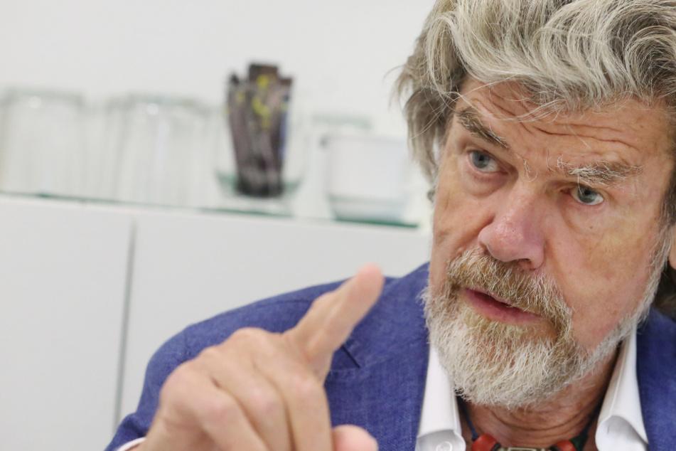 """Ohne Gefahr gibt es kein Abenteuer: Reinhold Messner plant eine """"Final Expedition"""""""