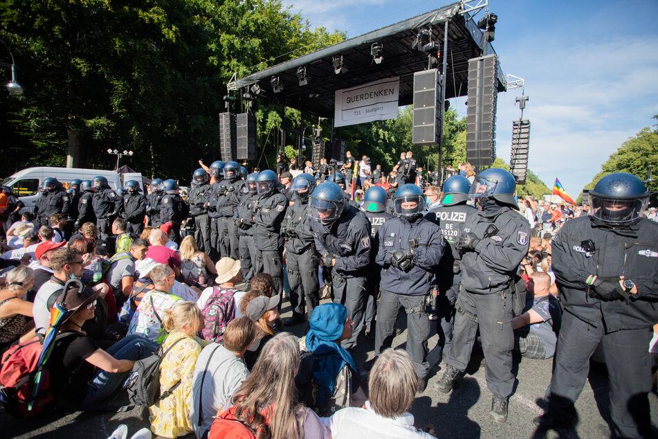 Die geplante Demonstration gegen die Corona-Politik am Samstag in Berlin wurde verboten.