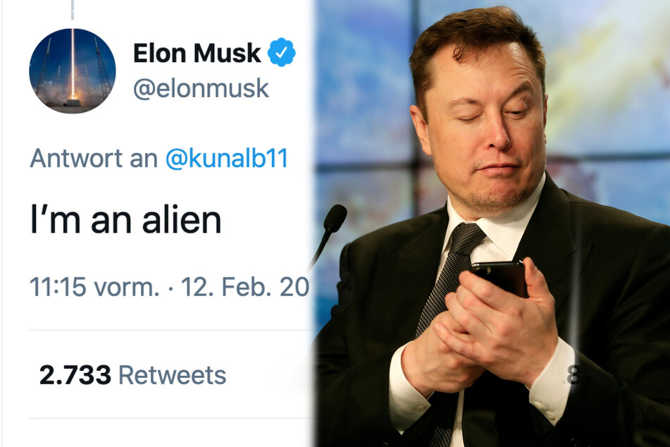 """Elon Musk behauptet von sich selbst, dass er ein """"Außerirdischer"""" sei"""
