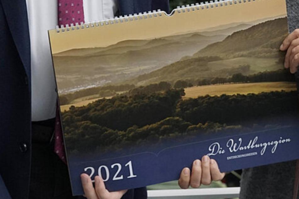 """Der Wandkalender """"Die Wartburgregion - Entdeckungsreisen"""" ist ein voller Erfolg."""