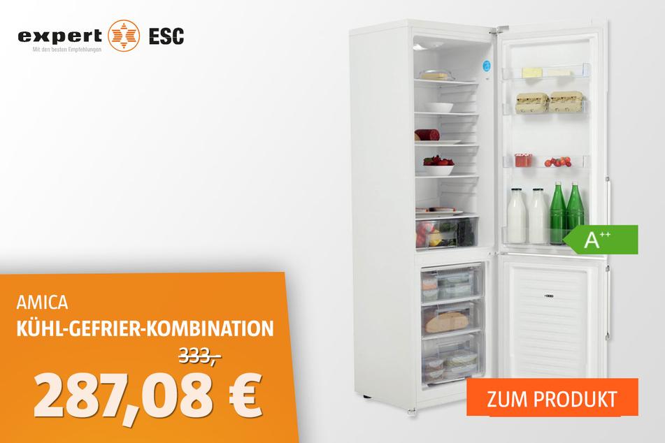 AMICA KGC 15489 W Kühl-Gefrier-Kombination für 287,08 statt 333 Euro