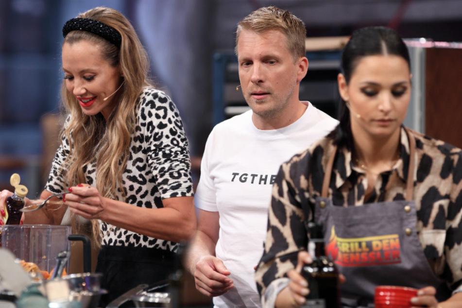 """""""Grill den Henssler"""": Oliver und Amira Pocher kochen zusammen mit der Ex"""
