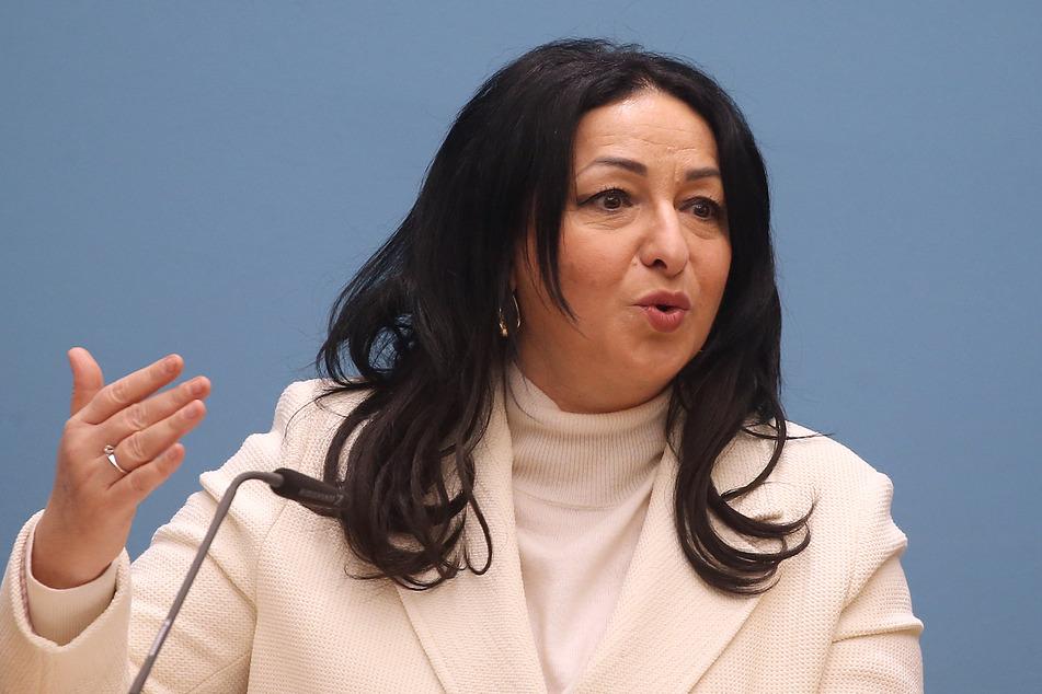 Dilek Kalayci (53, SPD), Gesundheitssenatorin, stellt eine eigene Impfstoffproduktion in Berlin in Aussicht.