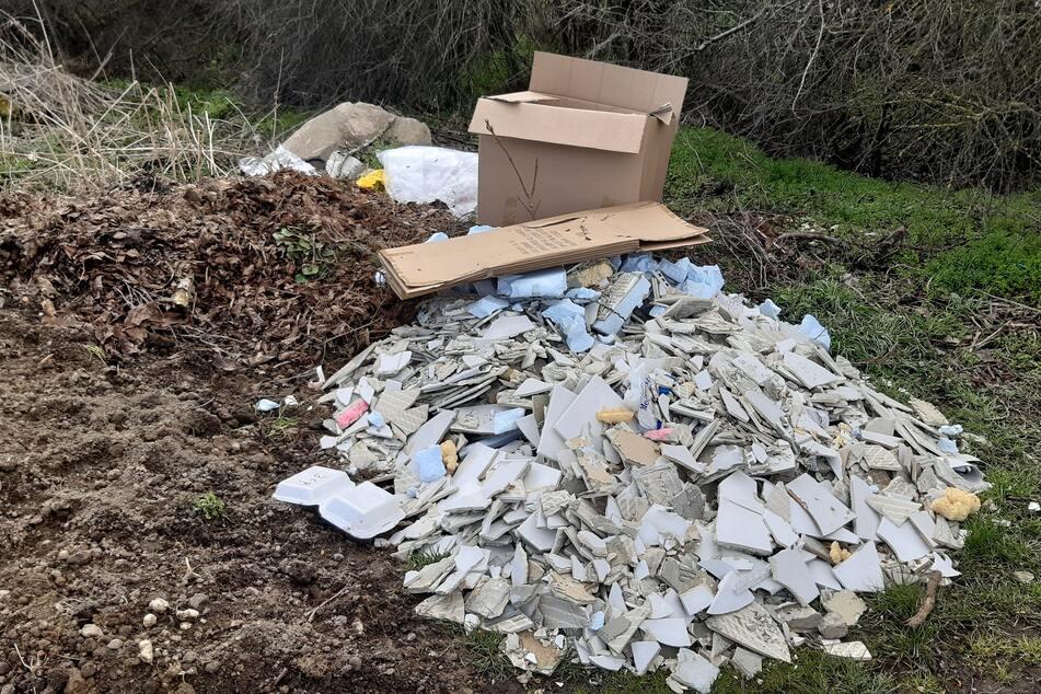 Müll-Detektive sollen dafür sorgen, dass Untaten wie diese hier am Breiteweg in Holzhausen verfolgt und geahndet werden.