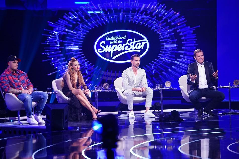 Pietro Lombardi, Oana Nechiti, Florian Silbereisen und Dieter Bohlen bilden die DSDS-Jury.