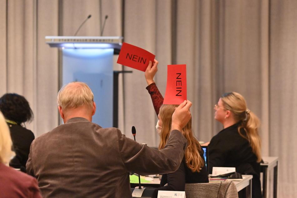 Ein klares Nein: Die Stadträte stimmten am Mittwoch mehrheitlich gegen die Gebühren-Erhöhung.