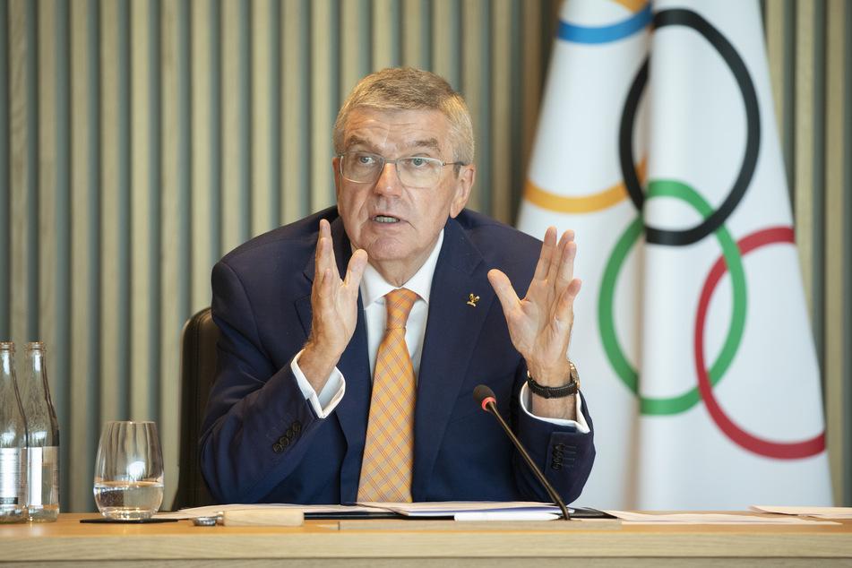 Thomas Bach ist der der Präsident des Internationalen Olympischen Komitees.