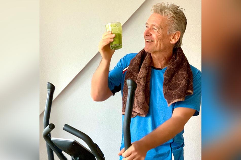 Grüne Smoothies und Fitness-Programm - so hält sich Schlagerstar Olaf Berger (56) fit.