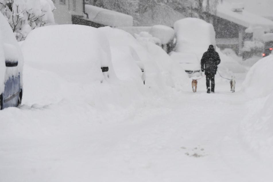 Schneewalze rollt über Bayern: Zahlreiche Unfälle, keine Entspannung in Sicht