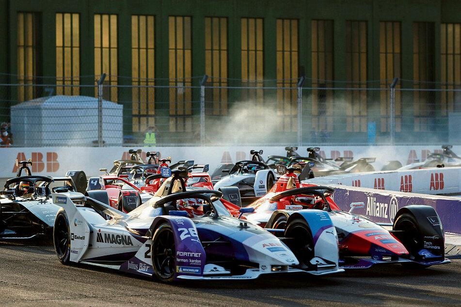 Formel-E-WM in Saudi-Arabien.