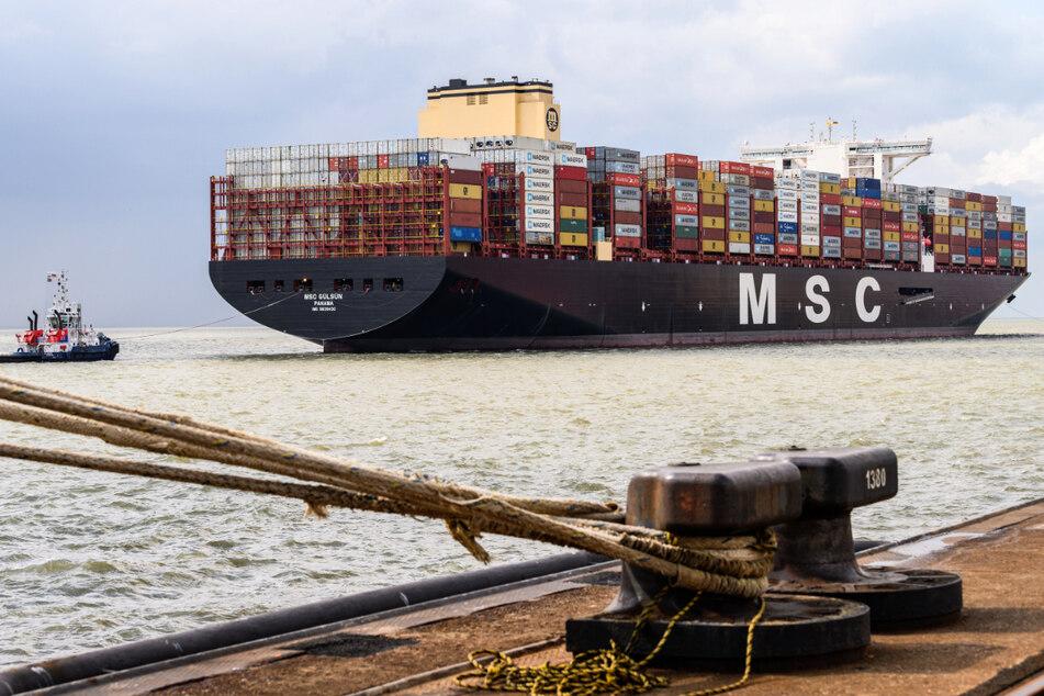 Nach Problemen in China ist die Containerschifffahrt durcheinandergeraten. (Symbolbild)