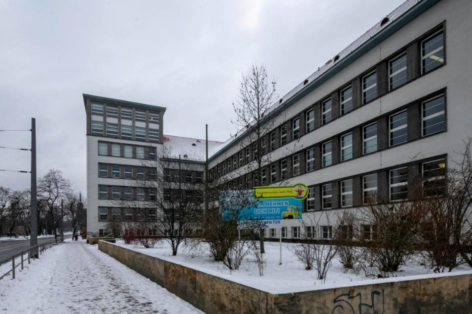 """Das Berufliche Schulzentrum """"Gustav Anton Zeuner"""" ist ab Dienstag eines der Dresdner Testzentren."""
