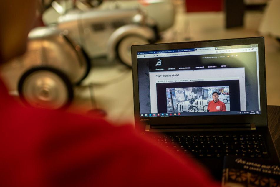 Das Fahrzeugmuseum in Chemnitz bietet digitale Inhalte an.