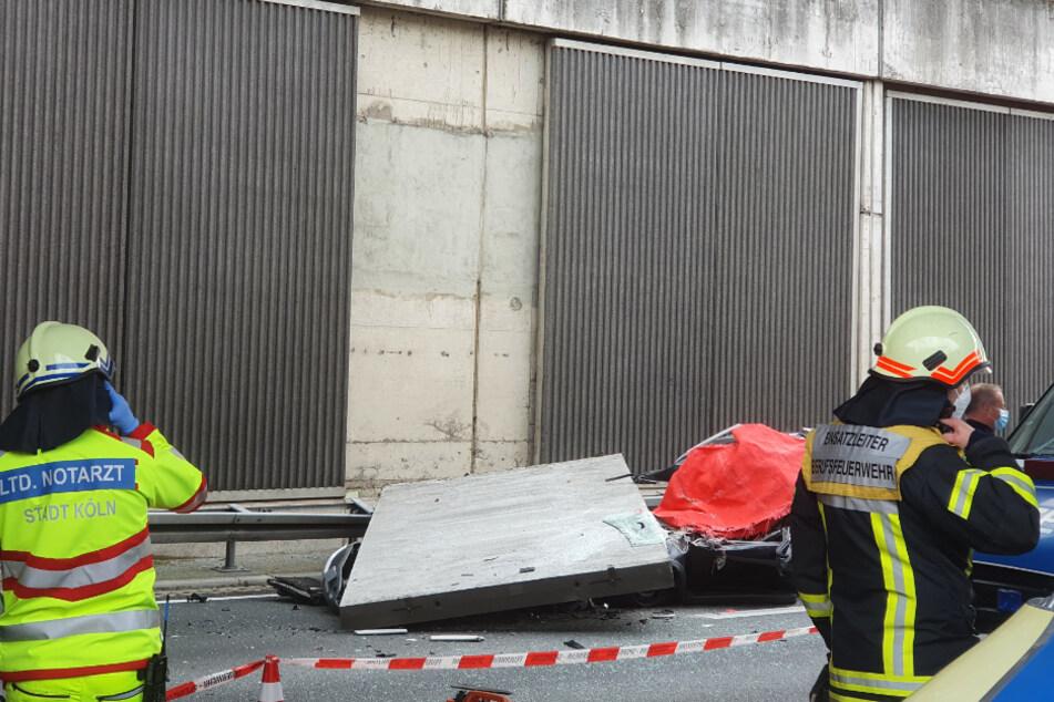 Nach tödlichem Betonplatten-Unfall: Weitere Schäden an Lärmschutzwänden gefunden