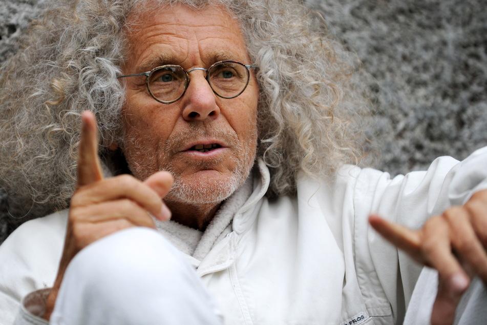 """Hippie-Ikone Rainer Langhans hat Krebs! """"Aggressiv und unheilbar"""""""