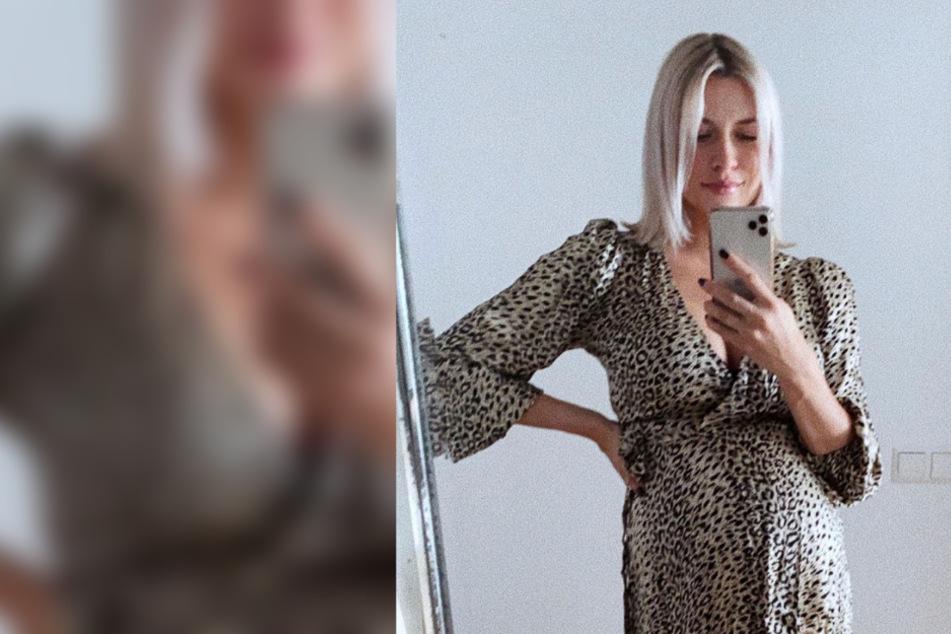 """Lena Gercke: """"Wie ist dieses Kleid so kurz geworden?"""""""