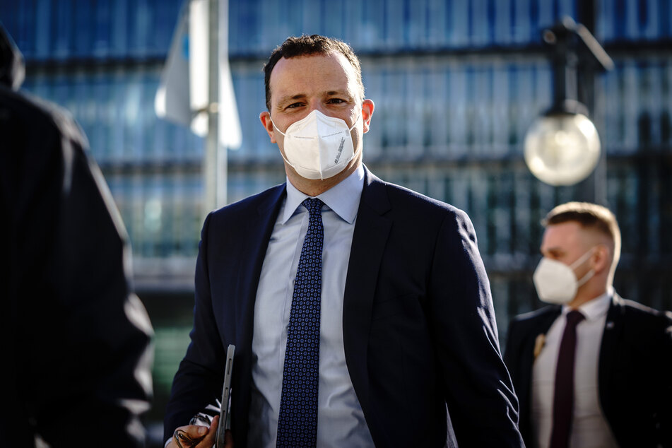 Jens Spahn (40, CDU, M.), Bundesminister für Gesundheit, kommt am Montag zur Präsidiumssitzung seiner Partei in das Konrad-Adenauer-Haus, der CDU-Parteizentrale in Berlin.