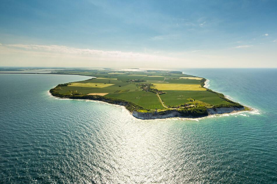 Das Ziel: Kap Arkona auf der nordöstlichen Spitze der Insel Rügen.