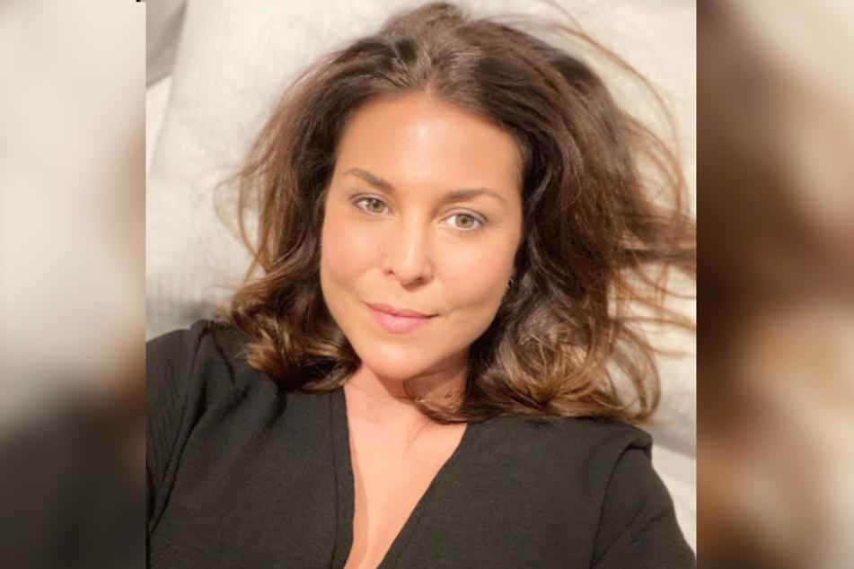 Vanessa Blumhagen (42) zeigt sich bei Instagram auch gern ungeschminkt.