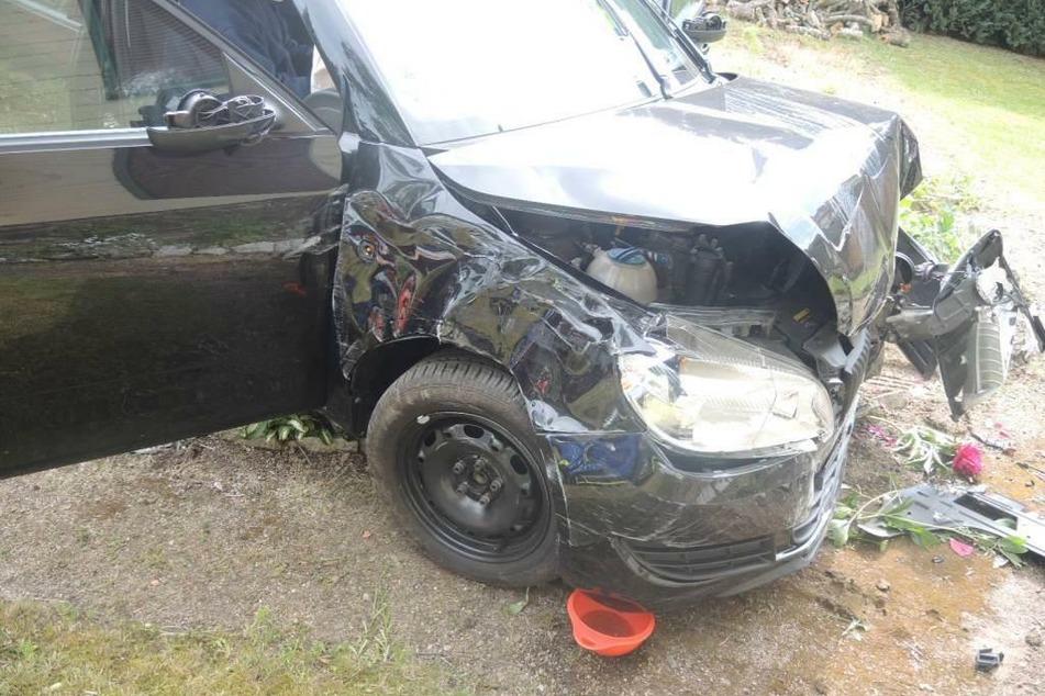 Mit Auto gegen Hauswand geprallt: Zwei Frauen in Wernigerode schwer verletzt