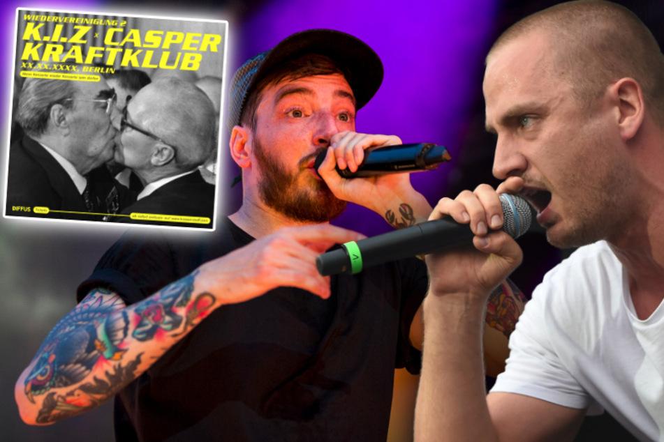 Fans aufgepasst! Kraftklub, K.I.Z und Casper planen Mega-Konzert