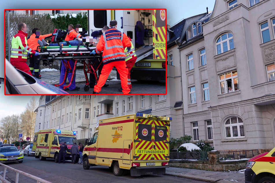 Chemnitz: Chemnitz: Frau niedergestochen und lebensgefährlich verletzt