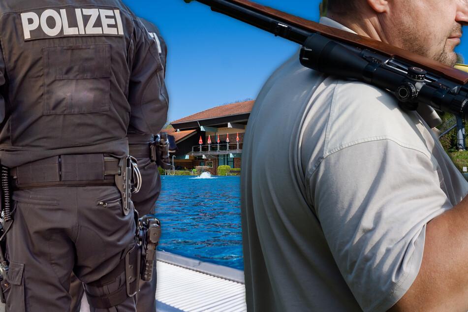 Geplantes Tier-Massaker? Mann mit Gewehr in Freibad ruft Polizei auf den Plan