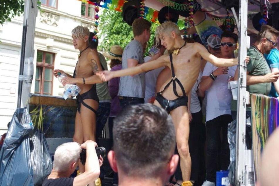 So schrill war Dresdens CSD-Parade durch die City