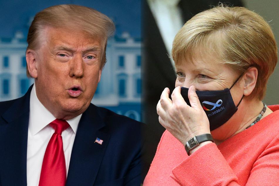 Neubauer lobte Angela Merkels Leistungen in der Vergangenheit und attestierte Donald Trump Unverständnis in Sachen Klima.