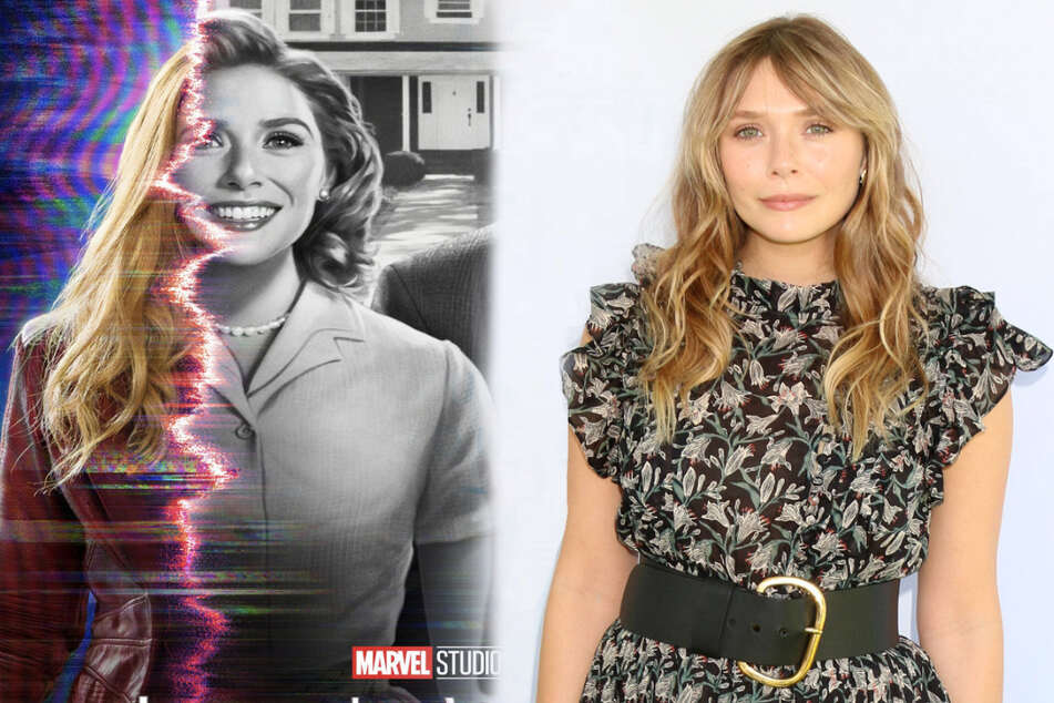 Elizabeth Olsen recently confirmed that her role in WandaVision (l.) won't be getting a second season.