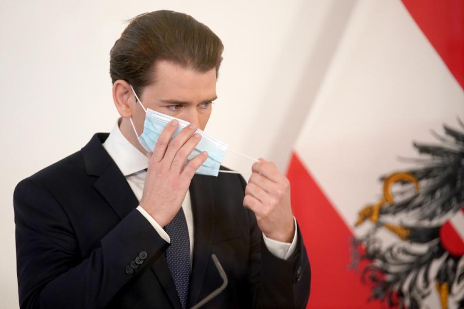 Österreichs Kanzler Sebstian Kurz (34).