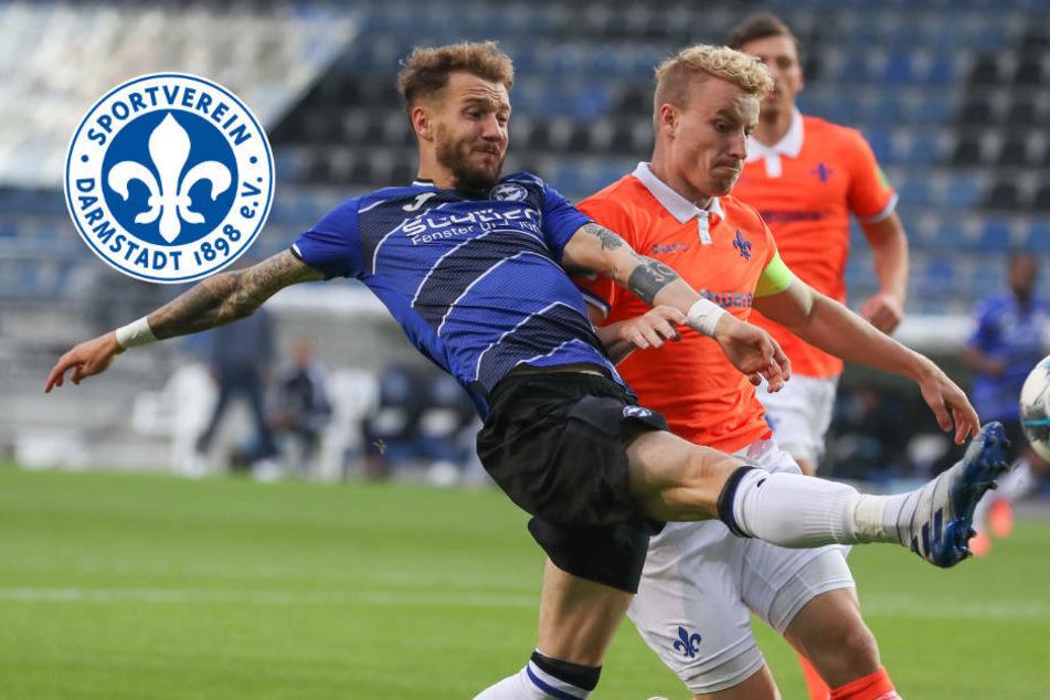 Zweitliga-Meister Arminia Bielefeld ringt starken SV Darmstadt 98 nieder