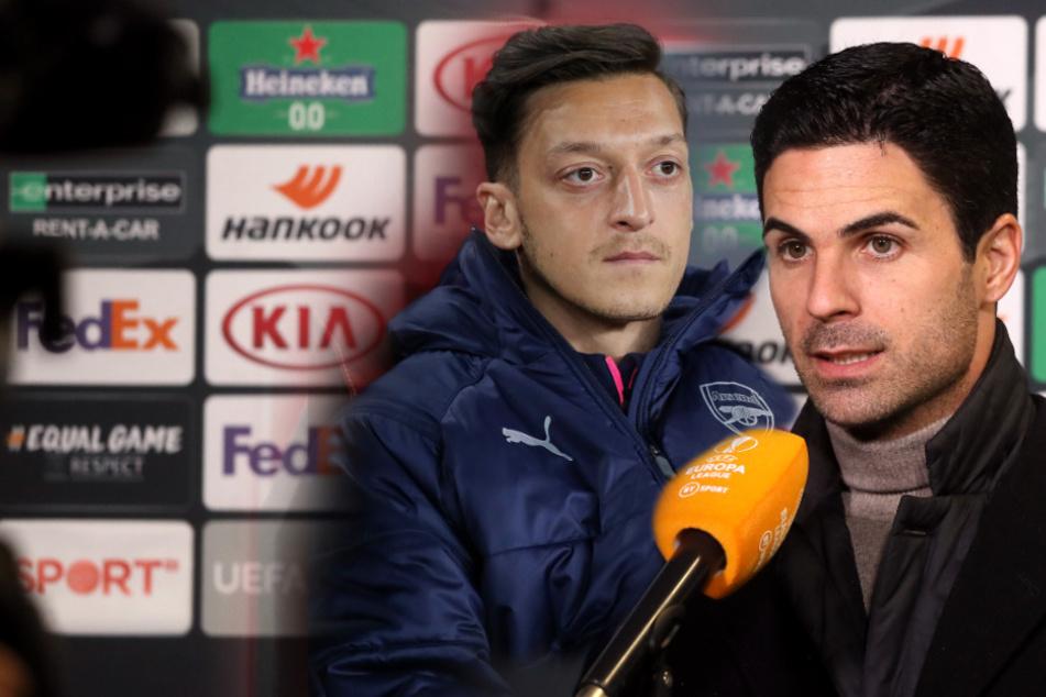 Özil-Desaster kurz vor dem Ende: Arsenal-Coach mit klaren Worten vor Türkei-Wechsel!