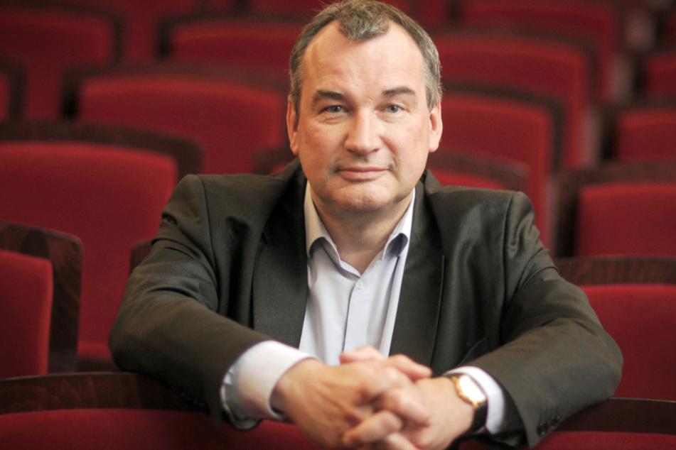 Das Foto aus dem Jahr 2014 zeigt Uwe Eric Laufenberg, den Intendanten des Staatstheaters Wiesbaden.