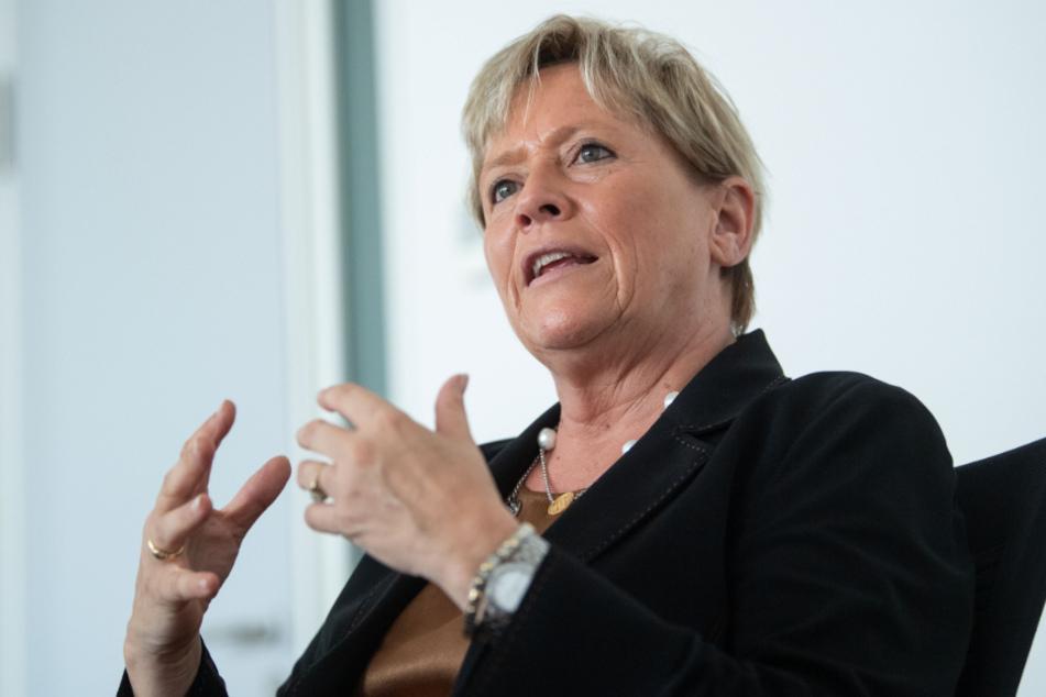 Kultusministerin Susanne Eisenmann befindet sich im Fokus.