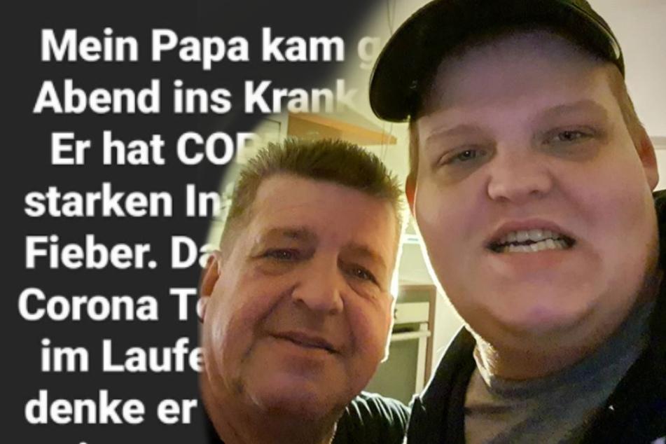 Sorge um seinen Vater Günter: Exsl95 wendet sich an seine Fans
