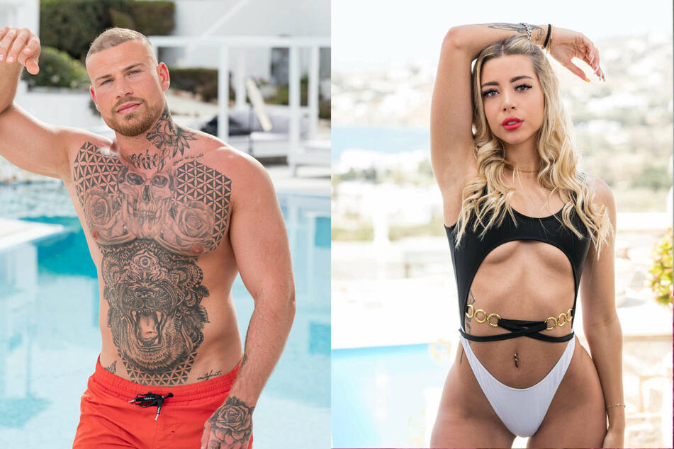 """Die ehemaligen """"Ex on the Beach""""-Kandidaten Salvatore Vassallo (27) und Walentina Wünnenberg (21)."""