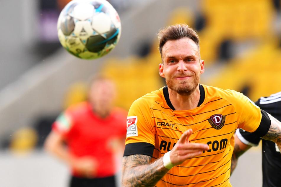 Patrick Schmidt kam zur Rückrunde zu Dynamo und erzielte sechs Tore für Dresden.