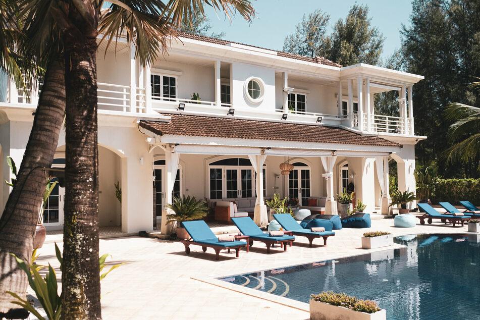 """Die Villa von """"Promis unter Palmen"""" auf Phuket. Hier haben sich bereits Eskapaden ereignet, die man vorher im Traum nicht für möglich hielt."""