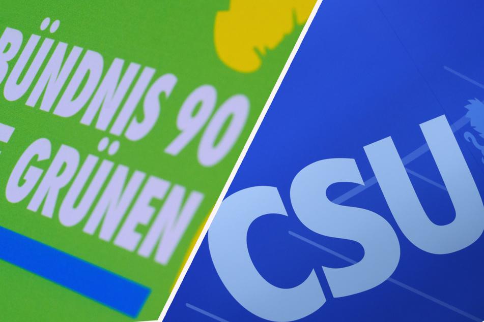 Während die Grünen an Zustimmung einbüßen, hat die CSU leicht dazu gewonnen. (Symbolbild)