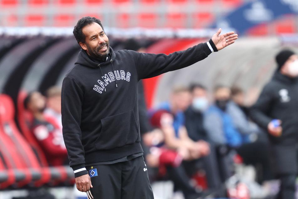 HSV-Trainer Daniel Thioune (46) fehlte gegen den 1. FC Nürnberg die nötige Entschlossenheit bei seinem Team.