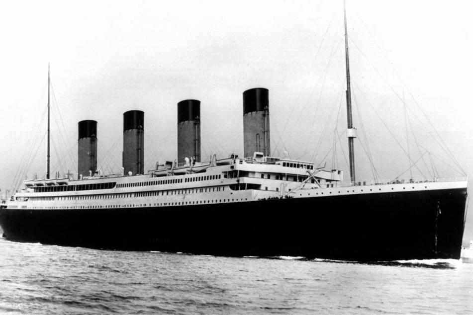 Der Luxusdampfer Titanic. Sein Wrack wurde erst 1985 auf dem Meeresgrund entdeckt.