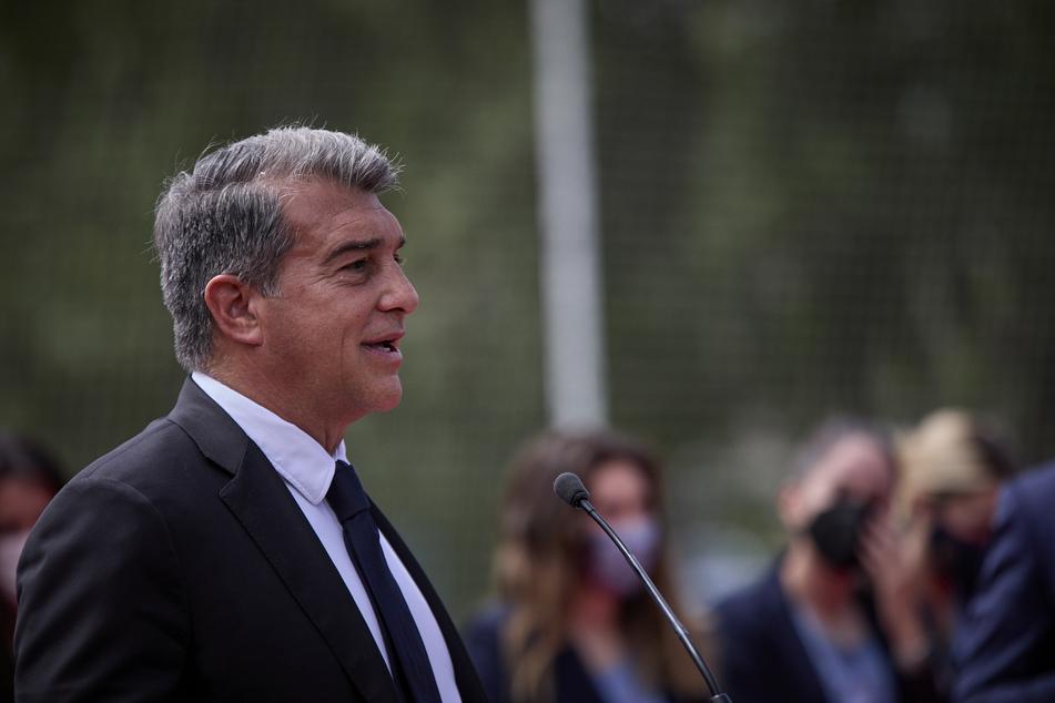 Barca-Präsident Joan Laporta (59) könnte schon bald die Verlängerung des Messi-Vertrags verkünden.