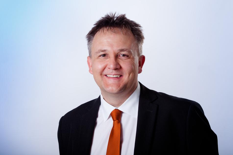 Der Schkeuditzer Oberbürgermeister Rayk Bergner (49, CDU).
