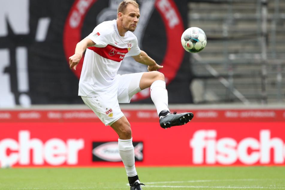Der ehemalige deutsche Nationalspieler: Holger Badstuber (31) im VfB-Dress.